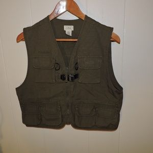 Kids L.L. Bean Hunting Fishing Vest XL Youth
